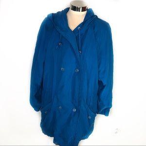 Forecaster blue teal color coat size S
